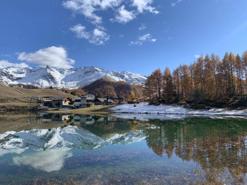 Le ultime dell'autunno a Chamois